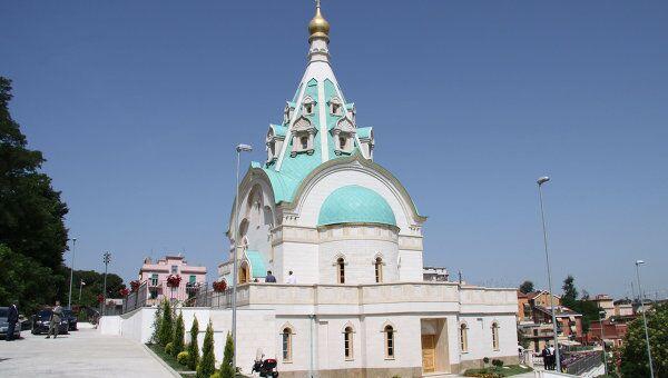 Храм Святой Великомученицы Екатерины в Риме. Архив
