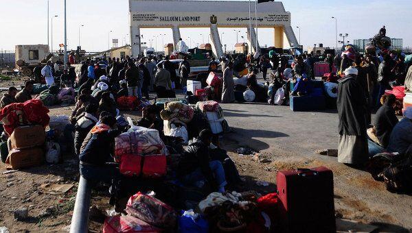 Эвакуация иностранцев из Ливии
