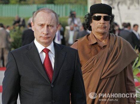 Визит президента России в Ливию