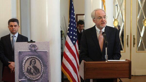 Посол США в РФ Джон Байерли. Архив