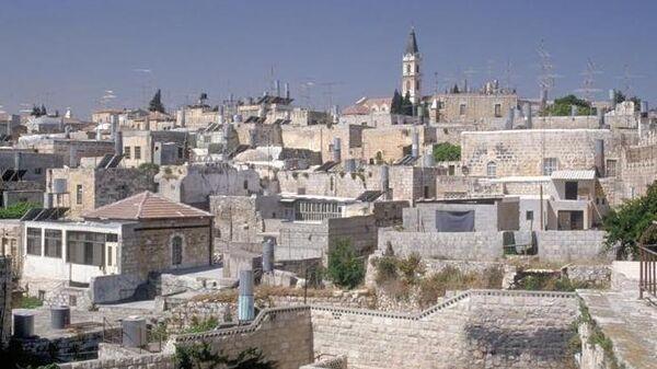 Виды Иерусалима. Архивное фото