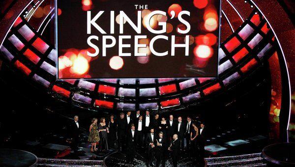 Премию Оскар за лучший фильм года присудили картине Король говорит!