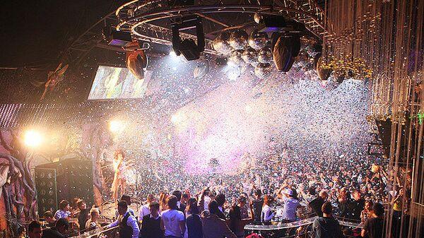 Вечеринка в клубе Rай