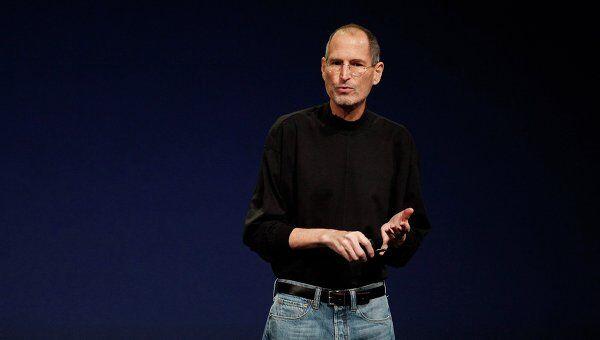 Стив Джобс на представлении новой версии iPad 2