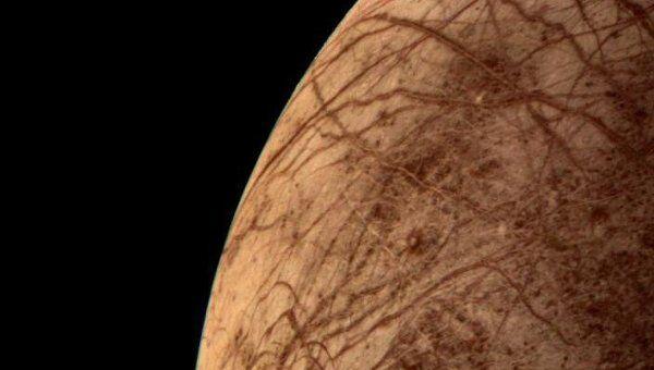 Поверхность спутника Юпитера Европы, Архивное фото