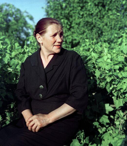 Мама Юрия Гагарина Анна Тимофеевна