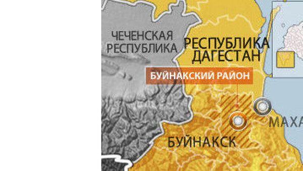 Начальник уголовного розыска Буйнакска ранен в Дагестане