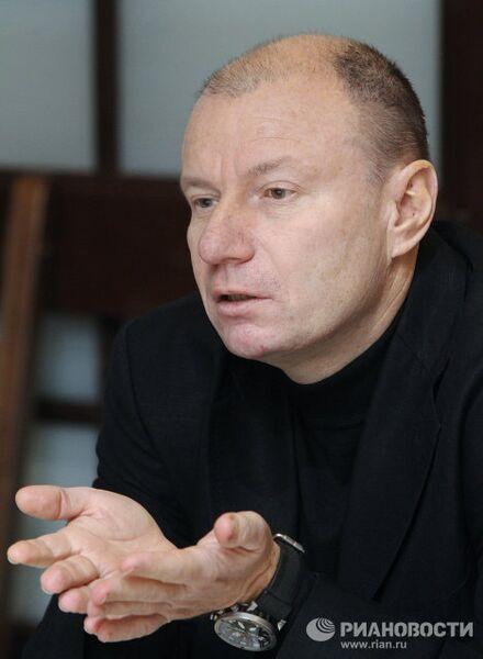 Президент Интерроса Владимир Потанин в агентстве РИА Новости