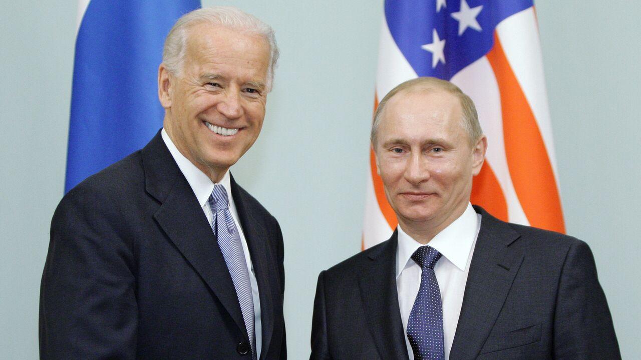 Журнал Time поместил на обложку Байдена с Путиным