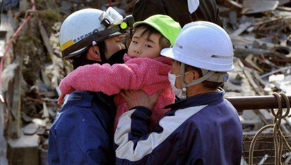 Последствия землетрясений в Японии