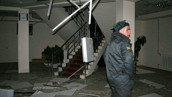 Нападении на здание ОВД в Дагестане