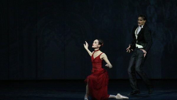 Сцена из спектакля Мариинского театра Анна Каренина