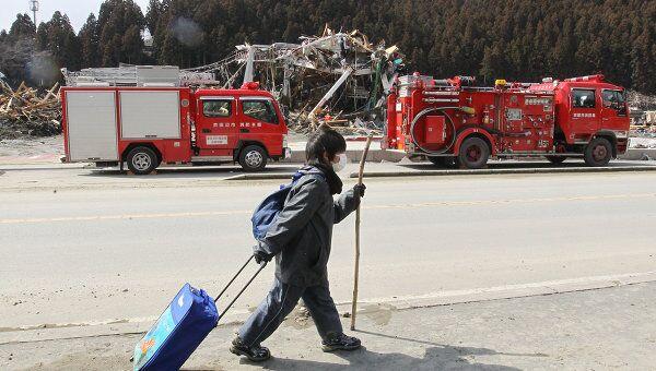 Пожарная служба Японии. Архивное фото