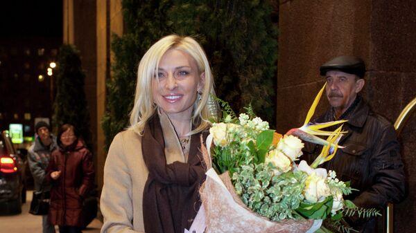 Российская певица Лолита Милявская в пятый раз вышла замуж