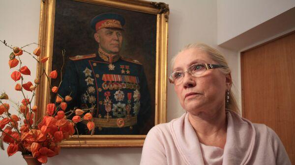 Дочь маршала Конева Наталия Ивановна Конева