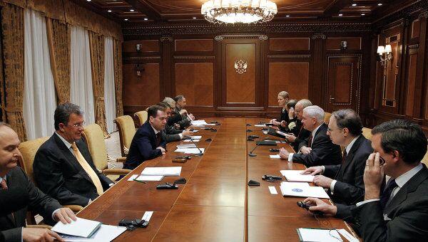 Встреча президента РФ Дмитрия Медведева с Робертом Гейтсом