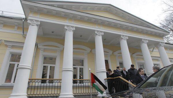 Здание посольства Палестины. Архивное фото