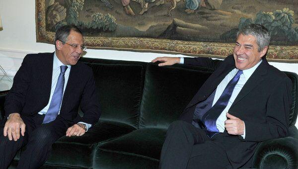 Премьер-министр Португалии Жозе Сократеш. Архив