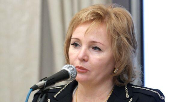 Супруга премьер-министра РФ Людмила Путина на церемонии вручения Горьковской литературной премии за 2010 год