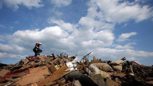 Последствия землетрясения в префектуре Иватэ в Японии, 29 марта 2011 г.