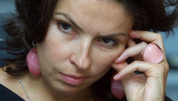 Генеральный директор канала Дождь. Optimistic Channel Наталья Синдеева. Архивное фото