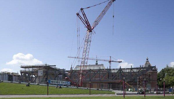 Стеделик-музей в Амстердаме откроется после реконструкции в 2012 году