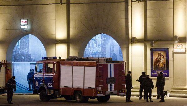 Взрыв в минском метро