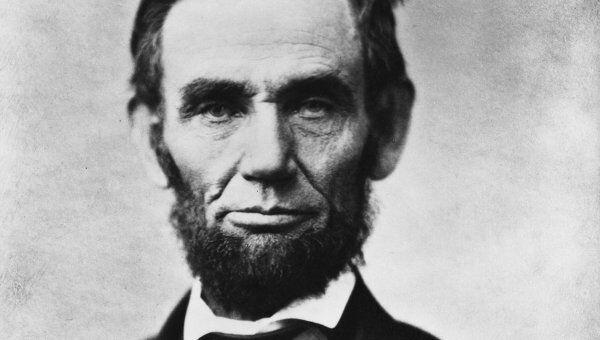 Авраам Линкольн. Архивное фото