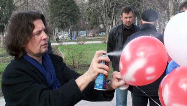 Ростовчане передали привет инопланетянам в День Космонавтики