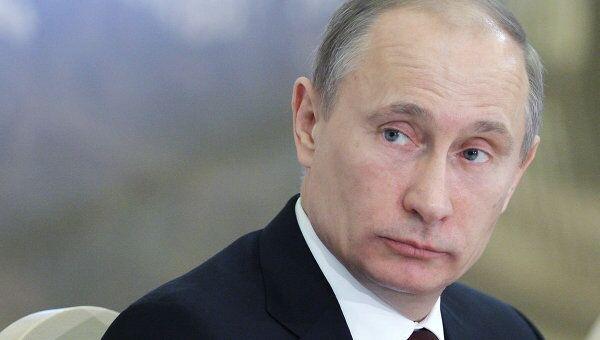 Председатель правительства РФ Владимир Путин . Архив