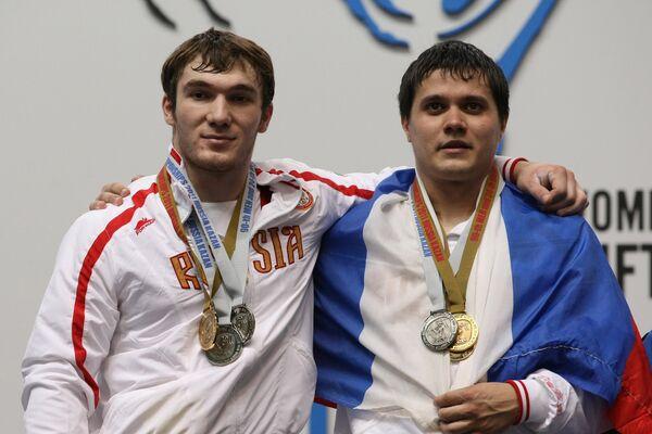 Алексей Юфкин и Апти Аухадов (справа налево)
