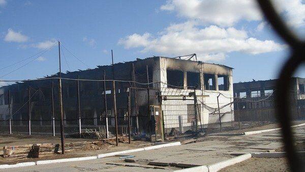 Пожар в колонии в Забайкальском крае