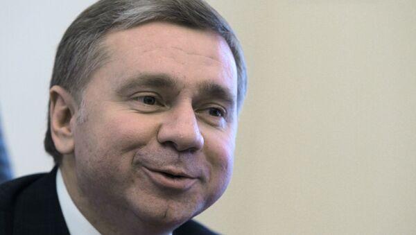 Руководитель департамента международных связей Москвы Сергей Черемин. Архивное фото