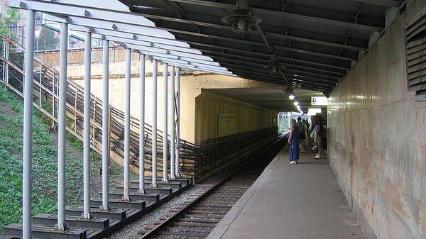 Станция метро Багратионовская. Архив