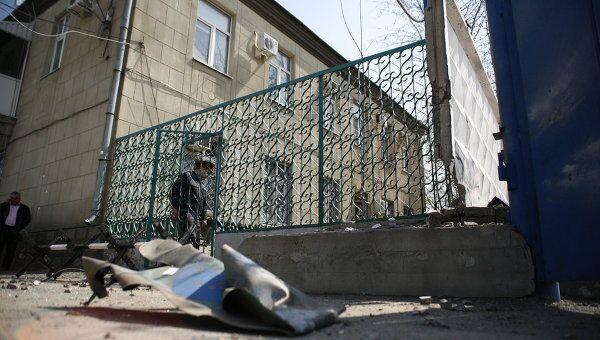 Взрыв у здания ГИБДД в Волгограде