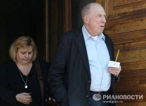 Прощание с народным артистом России Михаилом Козаковым