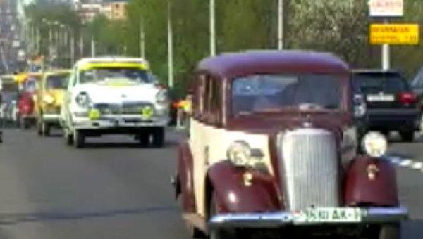 Opel 35-го года  принимает участие в автопробеге Рожденные в СССР