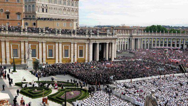 Беатификация папы Иоанна Павла II