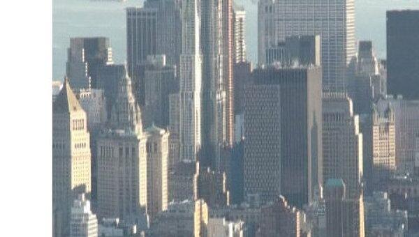 Взгляд на Нью-Йорк с высоты Эмпайр Стейт Билдинг