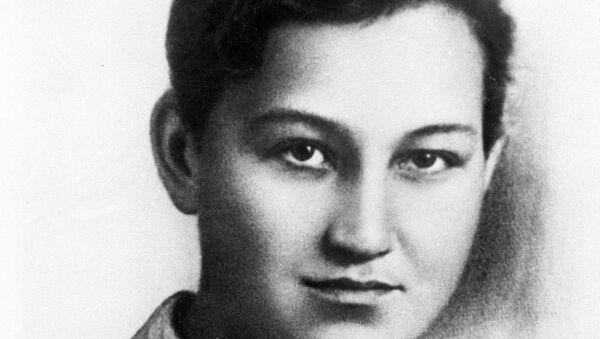 Герой Советского Союза, партизанка Зоя Космодемьянская. Архивное фото