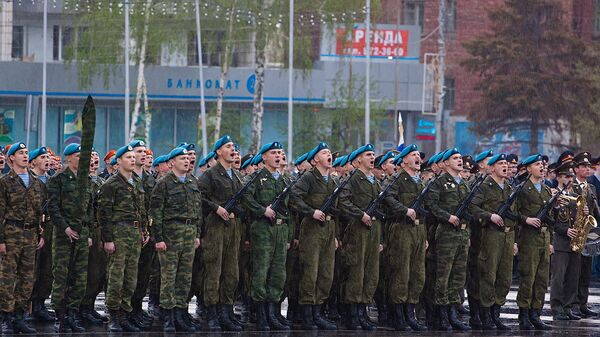 Репетиция парада Победы в Самаре
