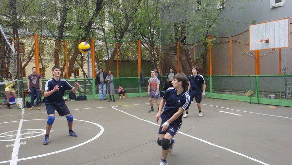 Спортивный день на Якиманке