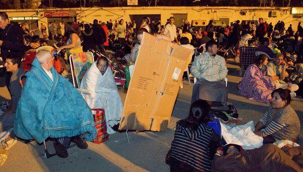 Жители Лорки боятся заходить в дома после землетрясения
