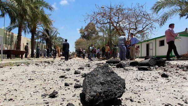 Последствия бобмежек НАТО в Триполи