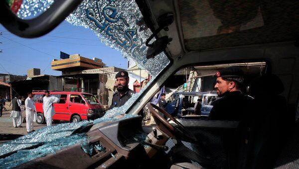 Теракт в городе Чарсадда