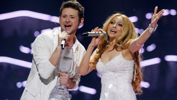 Элла и Никки из Азербайджана выиграли Евровидение-2011 в Германии