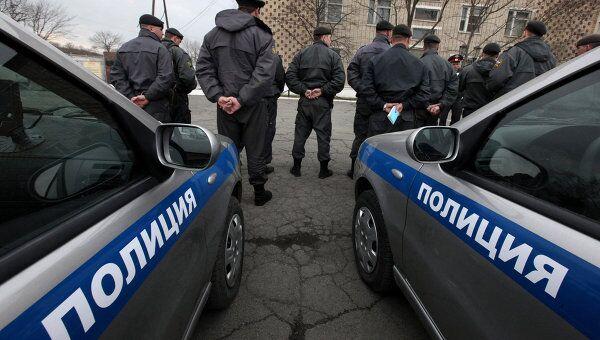 Полиция во Владивостоке. Архивное фото