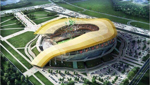 Стадион Ростов-на-Дону. Архивное фото