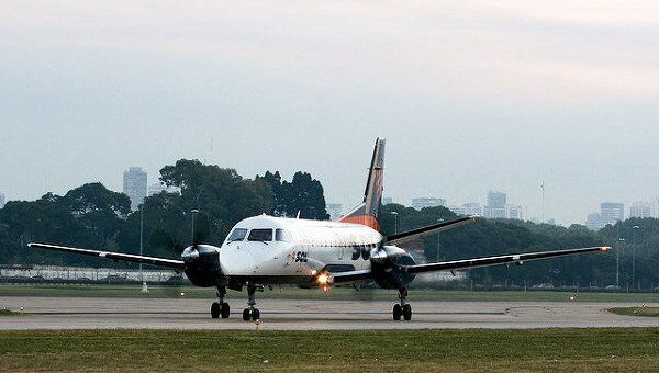 Самолет Saab 340. Архив