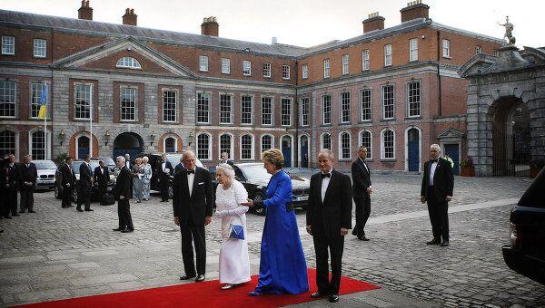 Визит королевы королевы Великобритании Елизаветы II в Ирландию